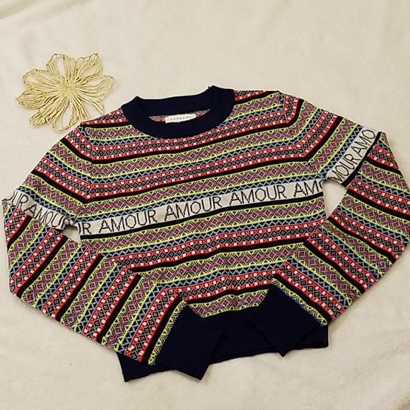 Topshop Amour Sweater EUC Size 4